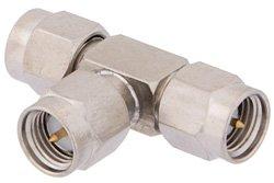 PE9379 - SMA Tee Adapter Male-Male-Male