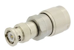 PE9489 - Precision N Male to BNC Male Adapter