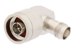 PE9550 - N Male to TNC Female Right Angle Adapter
