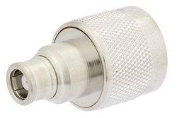 PE9584 - 75 Ohm N Male to SMB Plug Adapter