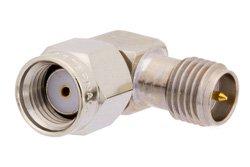 PE9594 - RP-SMA Male to RP-SMA Female Right Angle Adapter