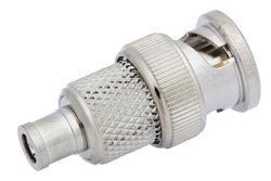 PE9616 - 75 Ohm Mini SMB Plug to 75 BNC Male Adapter