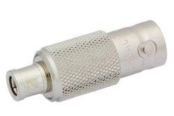 PE9617 - 75 Ohm Mini SMB Plug to BNC Female Adapter