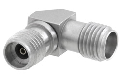 2.92mm Female to 2.92mm Female Right Angle Adapter