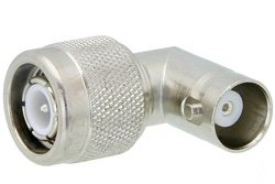 PE9783 - TNC Male to BNC Female Right Angle Adapter