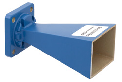 Pasternack WR-51标准增益喇叭天线在15GHz,22GHz的额定15dB增益WR51输入