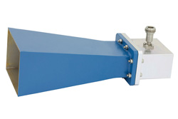 WR-229 Waveguide Standard Gain Horn Antenna Operating From 3.3 GHz to 4.9 GHz With a Nominal 10 dB Gain N Female Input