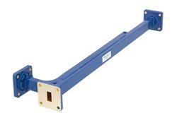 WR-51 10 dB Directional Waveguide Broadwall Coupler, Square Cover Flange, E-Plane Coupled Port, 15 GHz to 22 GHz