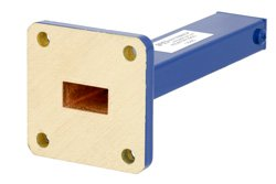 1 Watt Low Power Commercial Grade WR-51 Waveguide Load 15 GHz to 22 GHz, Bronze