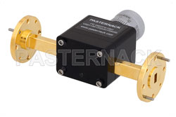 0 to 180 Degree WR-22 Waveguide Phase Shifter, From 33 GHz to 50 GHz, With a UG-383/U Round Cover Flange View 2