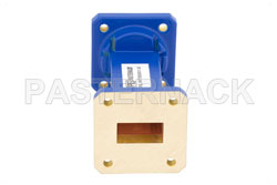 WR-75 Commercial Grade Straight Waveguide Section 3 Inch Length with UBR120 Flange Operating from 10 GHz to 15 GHz View 2