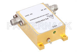 34 dBm IP3, 4.5 dB NF, 22 dBm Psat, 6 GHz to 12 GHz, Low Phase Noise Amplifier 11 dB Gain, SMA View 2