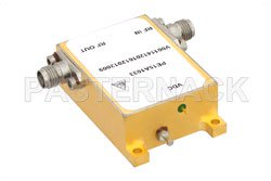 33 dBm IP3, 6 dB NF, 25 dBm Psat, 7 GHz to 11 GHz, Low Phase Noise Amplifier 9 dB Gain, SMA View 2