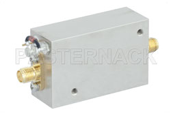 1 Watt P1dB, 2 GHz to 6 GHz, Medium Power Broadband Amplifier, 33 dB Gain, 39 dBm IP3, 5 dB NF, SMA View 2