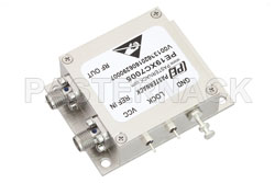 500 MHz Phase Locked Oscillator, 100 MHz External Ref., Phase Noise -110 dBc/Hz, SMA View 2