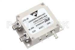 2 GHz Phase Locked Oscillator, 100 MHz External Ref., Phase Noise -110 dBc/Hz, SMA View 2