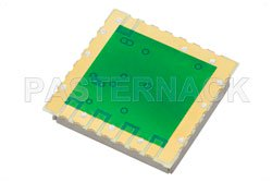 Surface Mount (SMT) 1,000 MHz Phase Locked Oscillator, 100 MHz External Ref., Phase Noise -110 dBc/Hz, 0.9 inch Package View 2