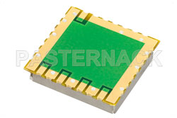 Surface Mount (SMT) 10 MHz Free Running Reference Oscillator, Internal Ref., Phase Noise -145 dBc/Hz, 0.9 inch Package View 2