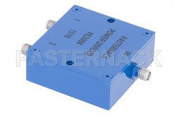 2 Way SMA Wilkinson Power Divider From 690 MHz to 2.7 GHz Rated at 10 Watts View 2