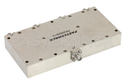 4 Way Broadband Combiner from 2 GHz to 6 GHz SMA View 2
