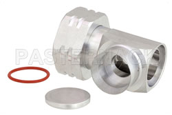 4.3-10 Male Right Angle Low PIM Connector Solder Attachment for PE-1/2SFHC, IP67 Rated View 2