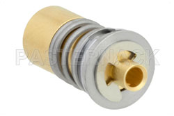 BMA Jack Snap-On Connector Solder Attachment for RG405, PE-SR405AL, PE-SR405FL, PE-SR405FLJ, Spring Loaded View 2