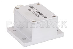 High Power 500 Watt RF Load Up to 1.2 GHz with N Female Chem Film Plated Aluminum View 2