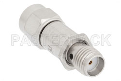 20 dB Fixed Attenuator, SMA Male to SMA Female Passivated Stainless Steel Body Rated to 2 Watts Up to 18 GHz View 2