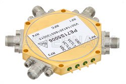 38 dB High Isolation SP4T PIN Diode Switch DC to 20 GHz, 3.8 dB Insertion Loss with SMA View 2