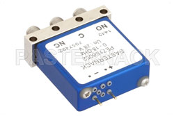 SPDT Electromechanical Relay Failsafe Switch, DC to 18 GHz, up to 240W, 28V, SMA View 2
