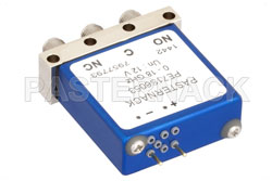 SPDT Electromechanical Relay Failsafe Switch, DC to 18 GHz, up to 240W, 12V, SMA View 2
