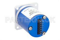 SP6T Electromechanical Relay Latching Switch, DC to 6 GHz, up to 80W, 28V Global Reset, SMA View 2