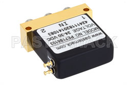 SPDT Electromechanical Relay Failsafe Switch, DC to 40 GHz, 10W, 28V, 2.92mm View 2