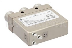 SPDT Electromechanical Relay Latching Switch, DC to 12.4 GHz, 160W, 12V Self Cut Off, Diodes, N View 2