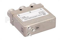 SPDT Electromechanical Relay Latching Switch, DC to 12.4 GHz, 160W, 28V Self Cut Off, Diodes, N View 2
