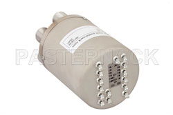 SP6T Electromechanical Relay Normally Open Switch, DC to 10 GHz, 50W, 28V Indicators, TTL, Diodes, N View 2