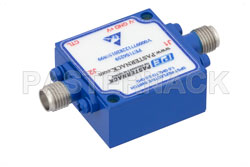 SPST PIN Diode Switch Operating From 1 GHz to 2 GHz Up to 0.1 Watts (+20 dBm) and Field Replaceable SMA View 2