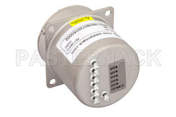 SP6T Electromechanical Relay Latching Switch, Terminated, DC to 22 GHz, 20W, 12V, Self Cut Off, Diodes, SMA View 2