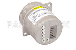 SP6T Electromechanical Relay Latching Switch, Terminated, DC to 22 GHz, 20W, 28V, Self Cut Off, Diodes, SMA View 2