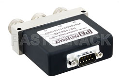 SPDT Electromechanical Relay Failsafe Switch, DC to 12 GHz, up to 600W, 12V, N View 2
