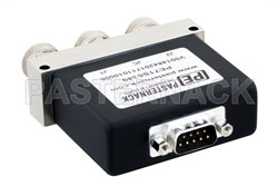 SPDT Electromechanical Relay Latching Switch, DC to 12 GHz, up to 600W, 12V, N View 2