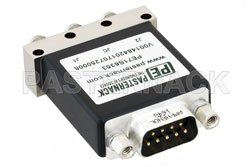 SPDT Electromechanical Relay Latching Switch, DC to 18 GHz, up to 90W, 12V, Indicators, SMA View 2