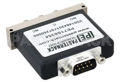 SPDT Electromechanical Relay Failsafe Switch, Terminated, DC to 18 GHz, up to 90W, 12V, SMA View 2