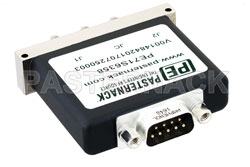 SPDT Electromechanical Relay Latching Switch, Terminated, DC to 18 GHz, up to 90W, 12V, SMA View 2