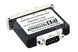SPDT Electromechanical Relay Latching Switch, Terminated, DC to 18 GHz, up to 90W, 28V, SMA View 2