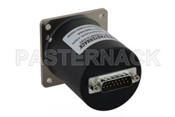 SP4T Electromechanical Relay Latching Switch, Terminated, DC to 18 GHz, up to 90W, 28V, SMA View 2