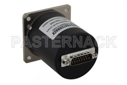 SP4T Electromechanical Relay Normally Open Switch, Terminated, DC to 18 GHz, up to 90W, 12V, SMA View 2
