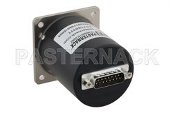 SP4T Electromechanical Relay Normally Open Switch, Terminated, DC to 26.5 GHz, up to 90W, 28V, SMA View 2