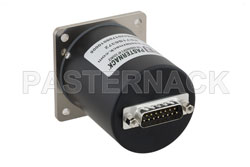 SP6T Electromechanical Relay Latching Switch, DC to 18 GHz, up to 90W, 28V, SMA View 2
