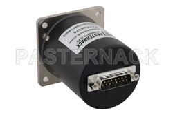 SP6T Electromechanical Relay Latching Switch, Terminated, DC to 18 GHz, up to 90W, 12V, SMA View 2